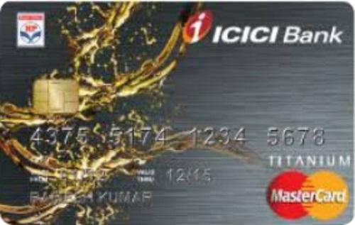 ICICI Bank HPCL Platinum Credit Card