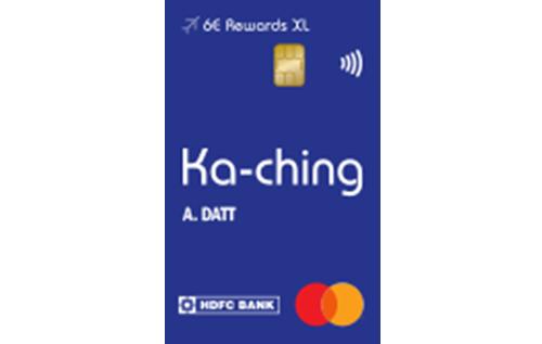 6E Rewards XL Indigo HDFC Bank Credit Card