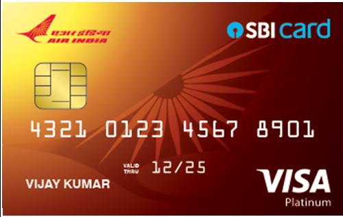 Air India SBI Platinum Credit Card