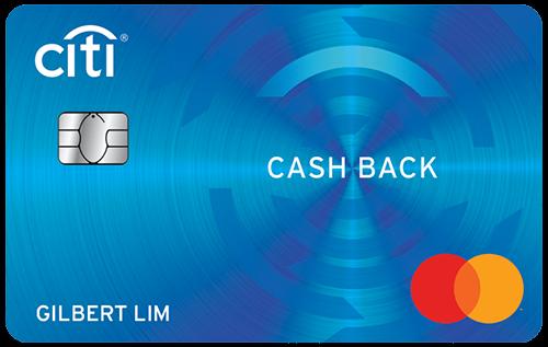 Citi Cash Back Credit Card
