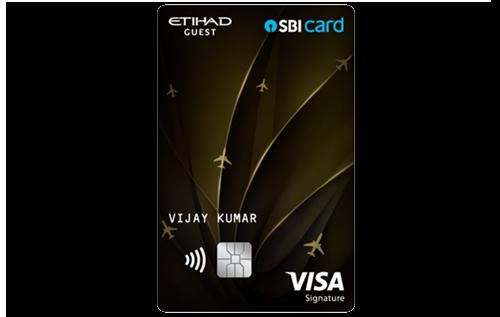 Etihad Guest SBI Premier Card