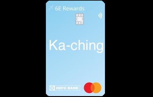 6E Rewards – IndiGo HDFC Bank Credit Card