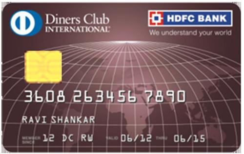 HDFC Bank Diners Club Premium Credit Card