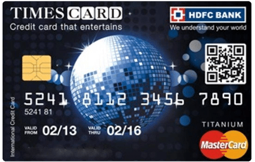 HDFC Bank Titanium Times Credit Card