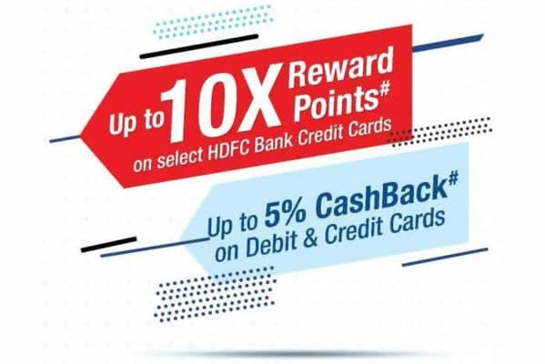 HDFC Bank Smartbuy Rewards Program Offers