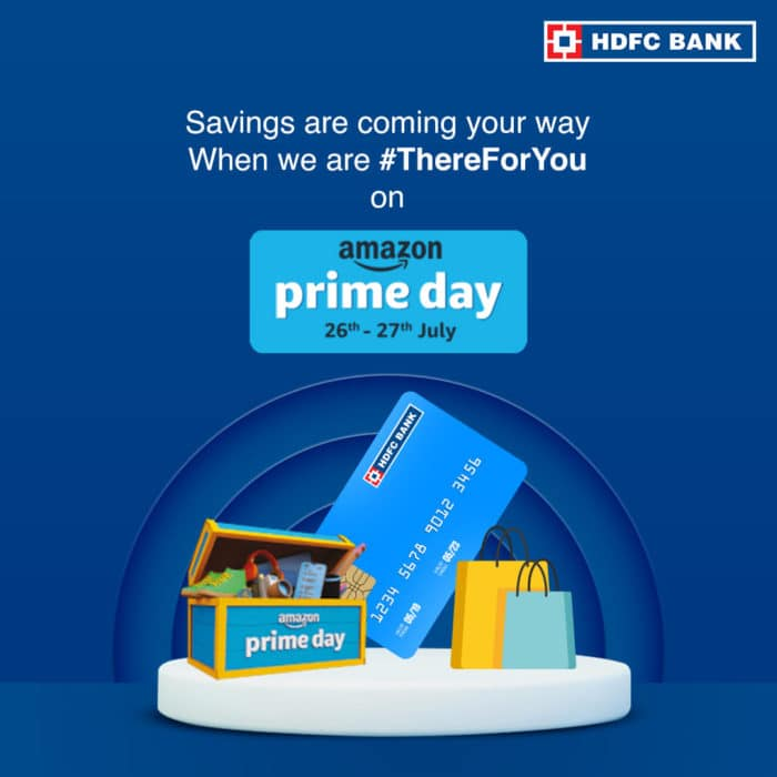HDFC Amazon Prime Day offer