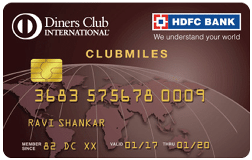 HDFC Bank Diners Club Miles
