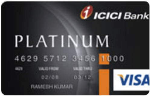 ICICI Bank Platinum Identity Credit Card
