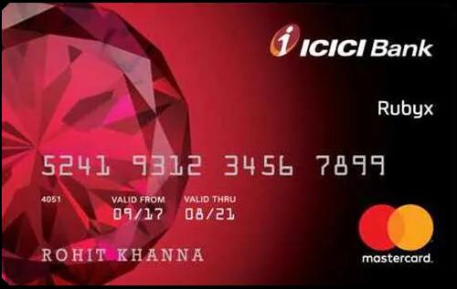 ICICI Bank Rubyx Credit Card