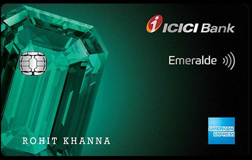 ICICI Bank Emeralde Credit Card