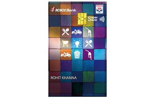 ICICI Bank HPCL Super Saver Credit Card