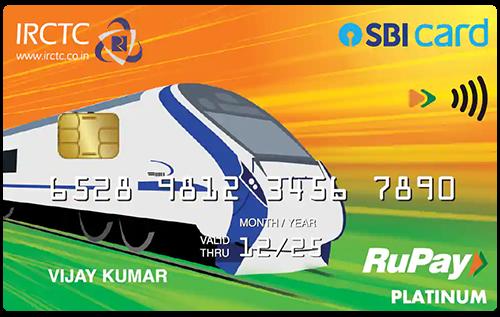IRCTC Rupay SBI Credit Card