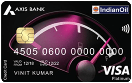 IndianOil Axis Bank Credit Card