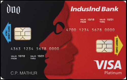 IndusInd Bank Duo Plus Credit Card