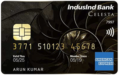 Indusind Bank Celesta Credit Card