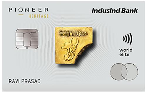 Indusind Bank Pioneer Heritage Credit Card