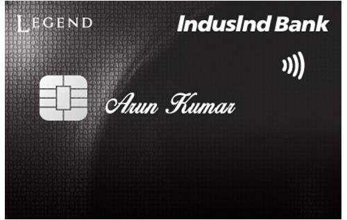 IndusInd Legend Credit Card