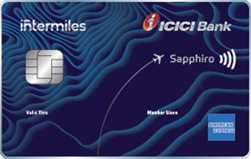 InterMiles ICICI Bank Sapphiro Credit Card