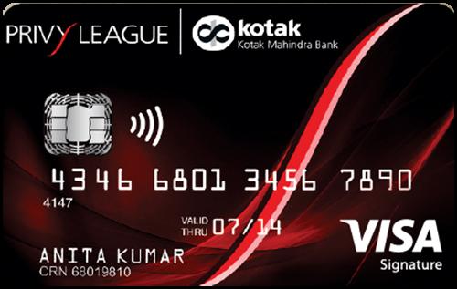 Kotak-Privy-League-Signature-Credit-Card