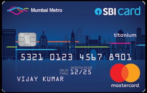 Mumbai Metro SBI Card