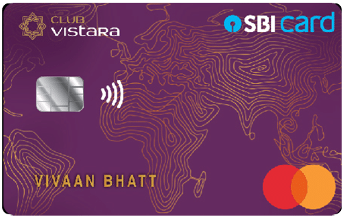 Club Vistara SBI Card