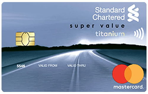 Standard Chartered Super Value Titanium Credit Card