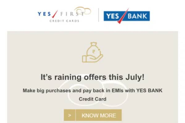Yes Bank Credit Card Offers