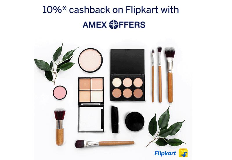 flipkart amex card offer