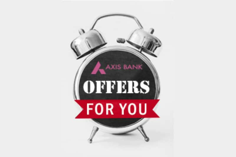 Axis Bank Credit Cards Spends Based Offers