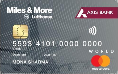 Axis Bank Miles & More Credit Card