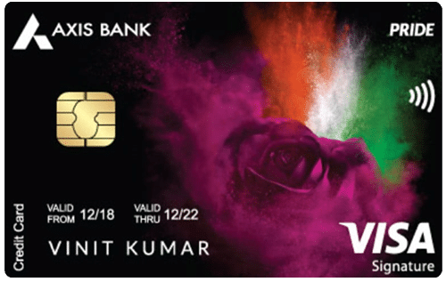 Axis Bank Pride Signature Credit Card