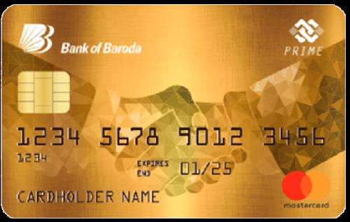 Bank of Baroda Prime Credit Card
