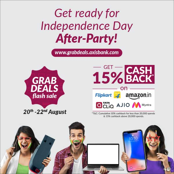 Axis Bank grab deals Sale offer
