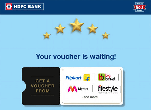HDFC Bank spend based offers