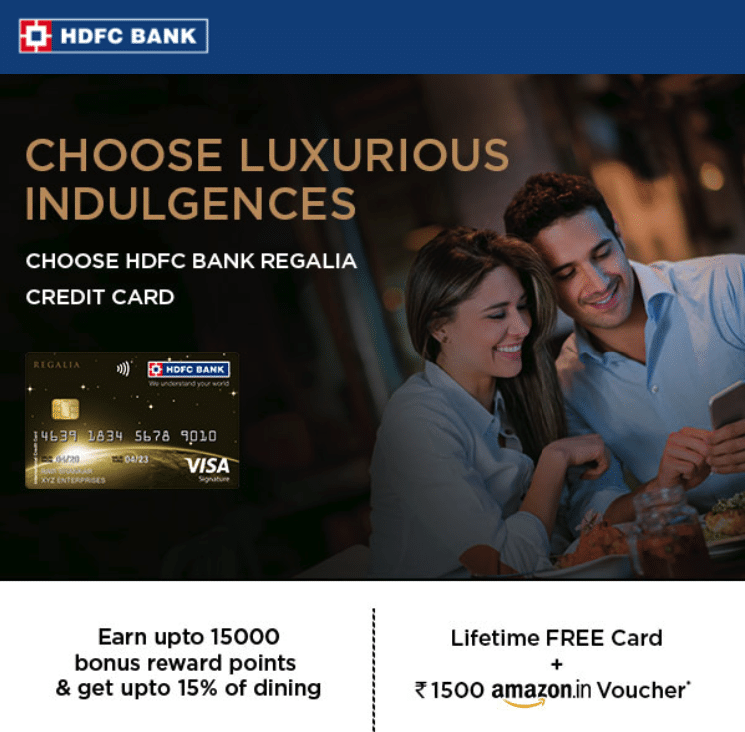 HDFC Credit Cards Lifetime Free