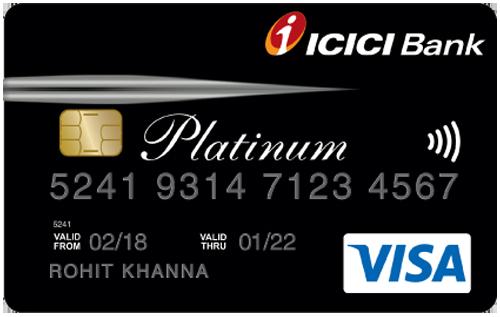 ICICI Bank Instant Platinum Credit Card