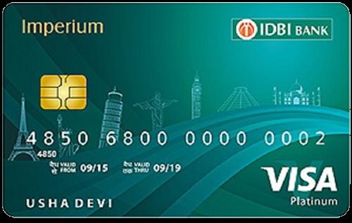 IDBI Imperium Platinum Credit Card