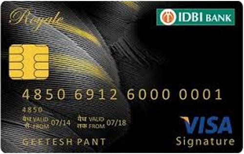 IDBI Royale Signature Credit Card