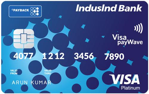 IndusInd Bank Payback Credit Card