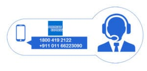 American express customer care number