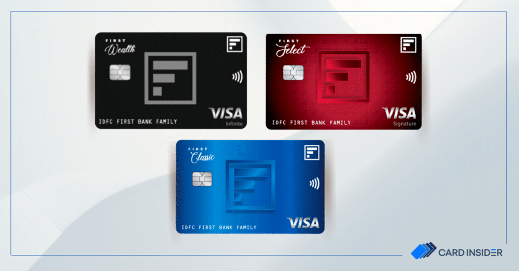 idfc first bank credit cards