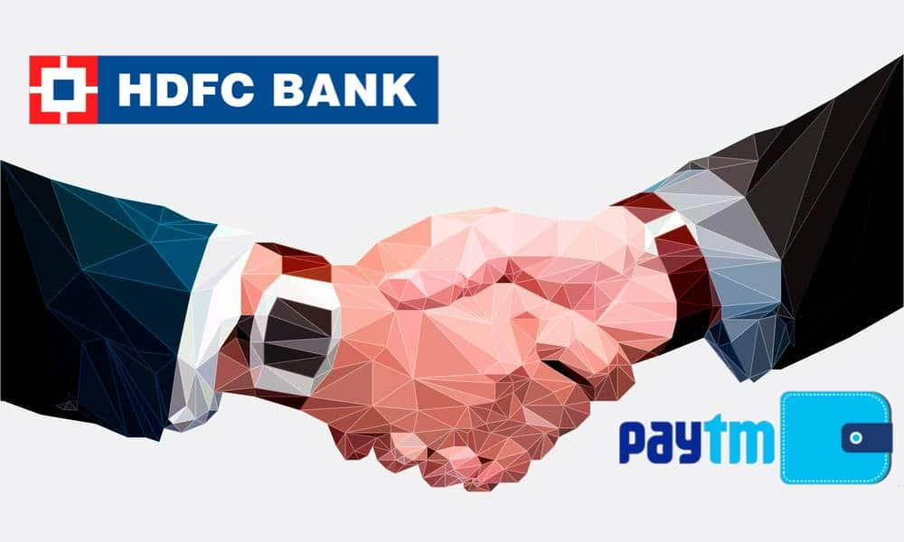 HDFC Bank and Paytm
