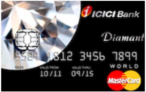 ICICI Bank Diamant Credit Card