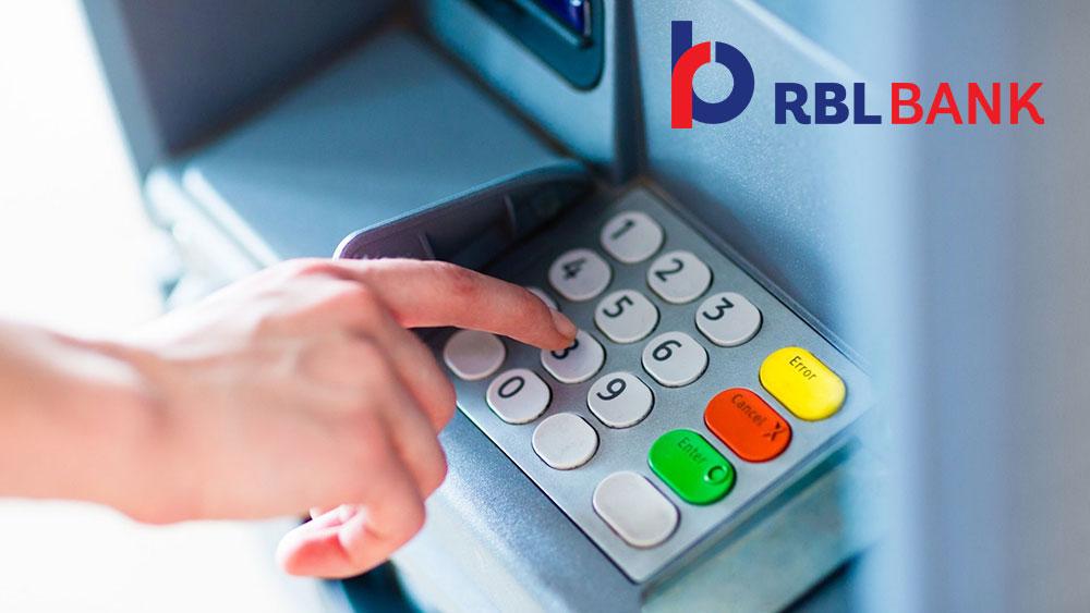 RBL Bank Credit Card Pin Generation