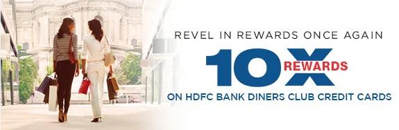 diner club credit cards 10x rewards offer
