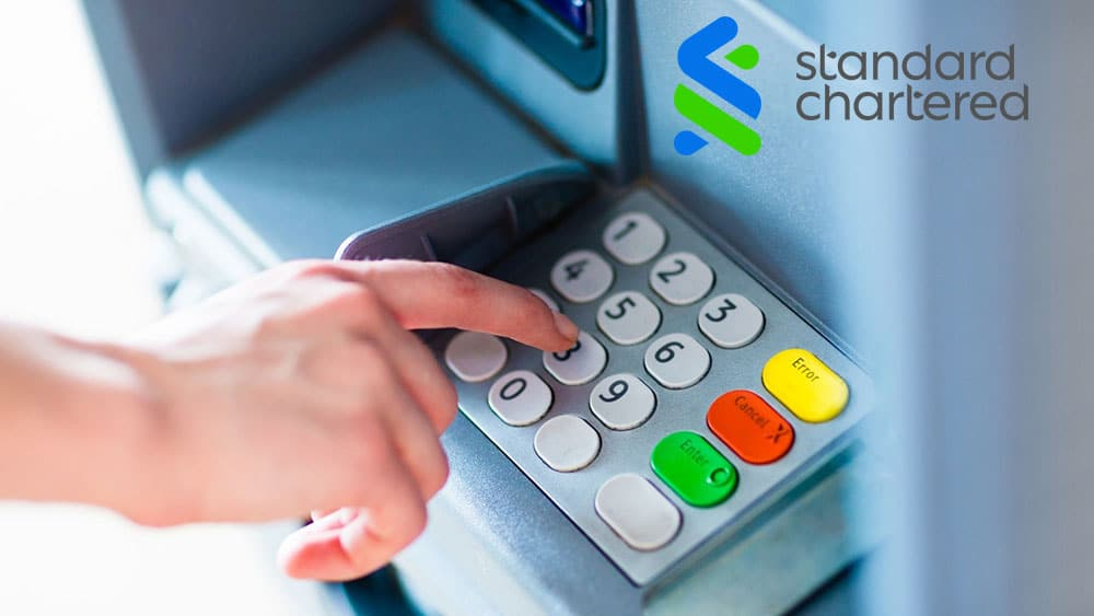 Standard Chartered Credit Card PIN Generation