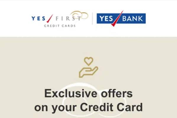 Yes Bank Credit Card 3X reward points Offer