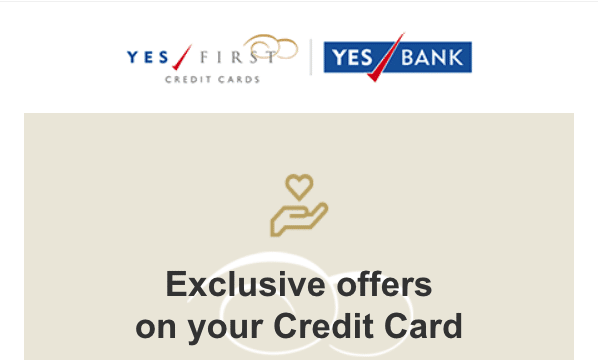 Yes Bank Credit Card Offer