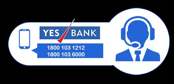 yes bank credit card customer care