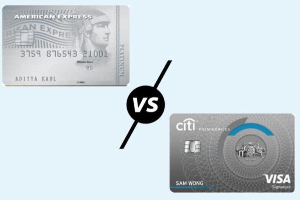 American Express Platinum Travel Credit Card vs Citibank PremierMiles Credit Card